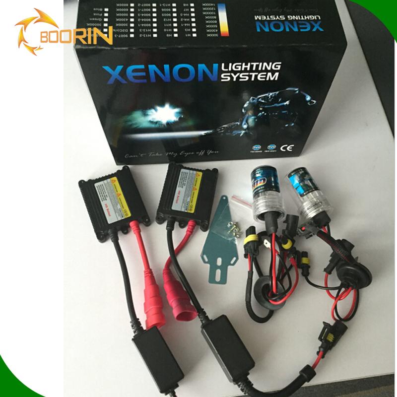 HID Kit Xenon Lights 35W 55W System H1 H3 H4 H7 H8 H9 H10 H11 H13 9004 9006 9007