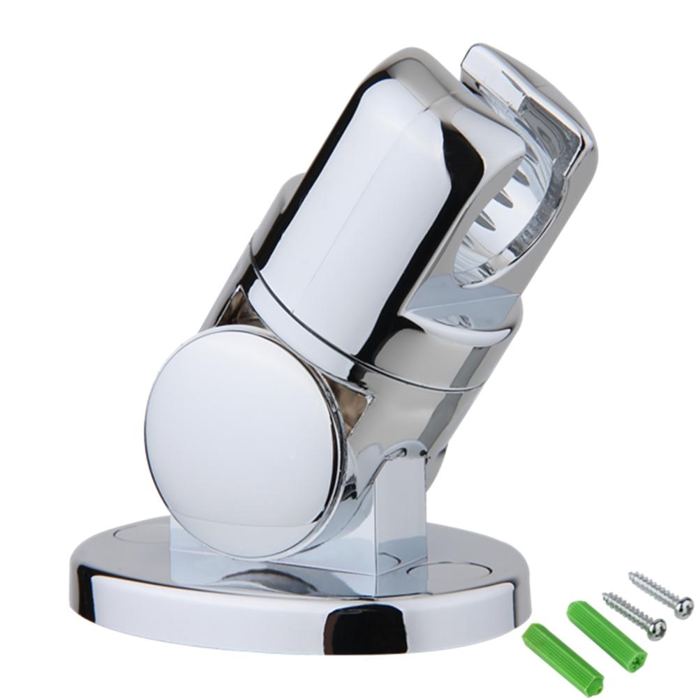 bathroom hand held shower head rotatable wall mount mounted bracket holder in bathroom faucet. Black Bedroom Furniture Sets. Home Design Ideas