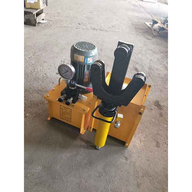 Aluminum shell pure copper motor multi function portable steel bending straightening machine