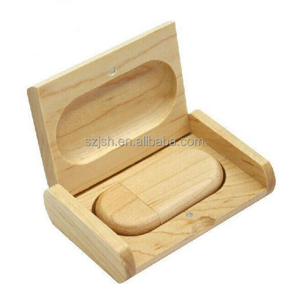 Hot Sale Wooden USB flash drive pen drives with Packing box 4GB 8GB 16GB 32GB memory stick gift