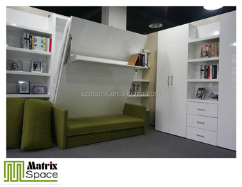 Folding sofa wall bed vectical murphy bed folding wall bed - Ricci casa letti matrimoniali ...