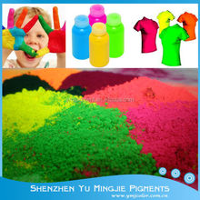 Fluorescent Pigment Powder For Textile Printing Inks (fabrics, sportswear and leisure garments)