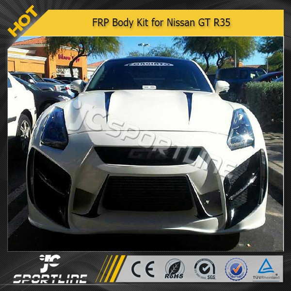 frp auto body kit voor n issan gt r35