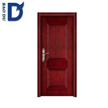 China Manufacturing Classic Caving Solid Teak Wood Main Door Design/models