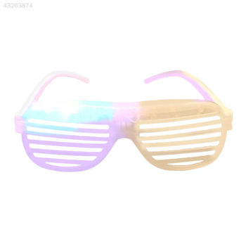 Halloween Shutter Shades LED Light Up Flashing Blink Glow Glasses Sunglasses AM562