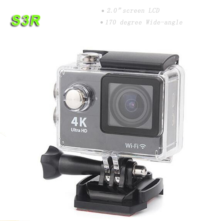 S3R Best 30m Waterproof Full Hd 1080p Sport Dv Cheap Action Camera High Resolution Portable Outdoor Sports DV wifi