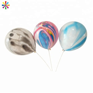 China Globos Festival Decoration Party Latex Marble Balloon