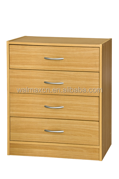 Modern furniture wooden cabinet simple KD drawers of chest