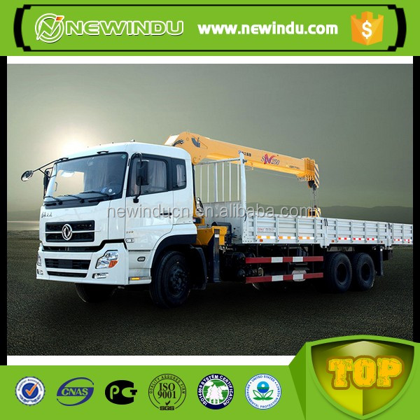 5 ton truck mounted crane with SINOTRUCK HOWO chassis