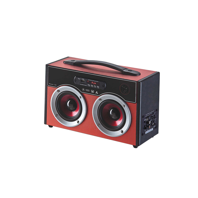 Mini Trolley portable speakers outdoor active bluetooth with rechargeable battery