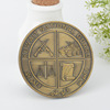 Customize cheap different types of metal antiqu coins, old coins