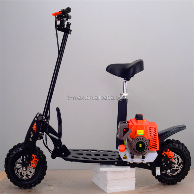 71cc EPA gasoline scooter, mini folding cheap petrol scooter for adults