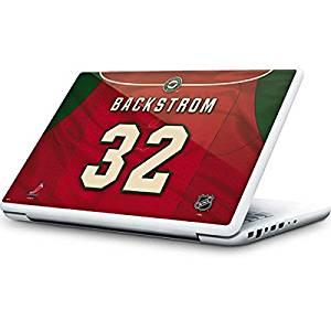 NHL Minnesota Wild MacBook 13-inch Skin - Minnesota Wild #32 Niklas Backstrom Vinyl Decal Skin For Your MacBook 13-inch