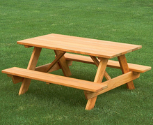 2016 most popular wooden picnic table