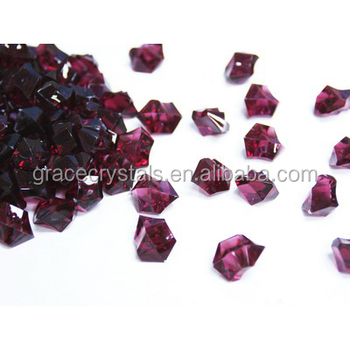 Bordeaux Color Ice Stone Vase Filler Acrylic Ice Stone Buy Acrylic