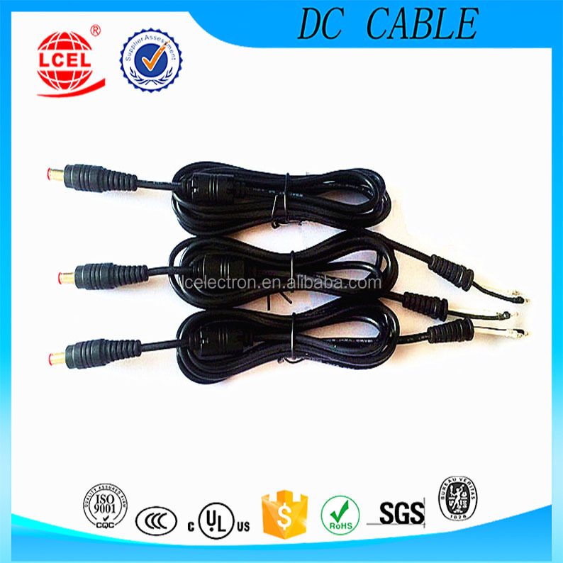 High Quality UL <strong>1185</strong> 18AWG 5521 male connector dc power plug Cable