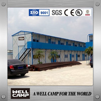 WELLCAMP Hot Sale Luxury Two Floor Office House For Malaysia Government