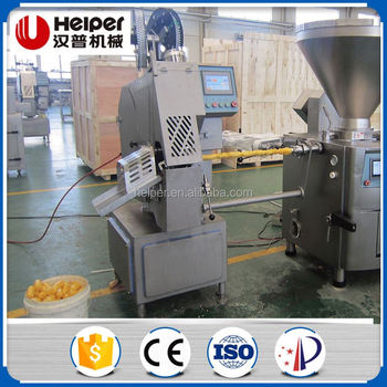 Automatic sausage casing clipper/clipping machine