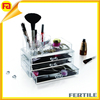 Beauty and Lifestyle Acrylic Jewelry & Cosmetic Storage Boxes Organizer