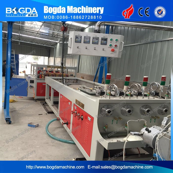 New Product Four Head PVC Hard Conduit Pipe Production Line