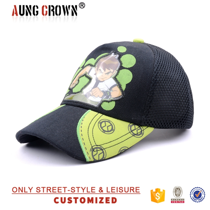 custom wholesale baseball cap children