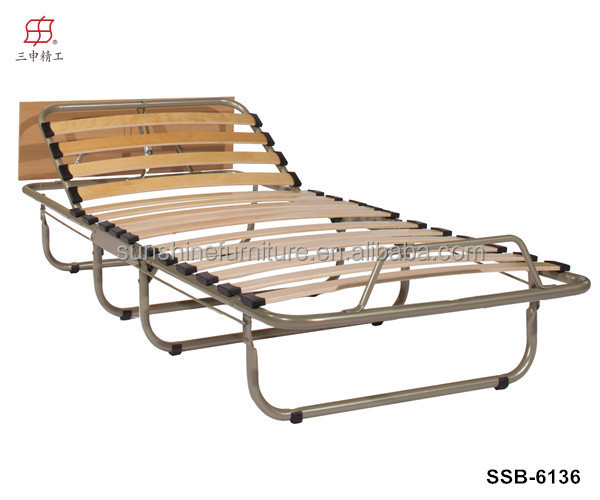 Cheap Simple Design Portable Metal Single Folding Bed Fold Up Beds For Home  Hotel Ourdoors Camping