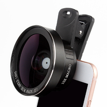 High definition no dark corners super wide angle and 15x macro camera lens for mobile phone