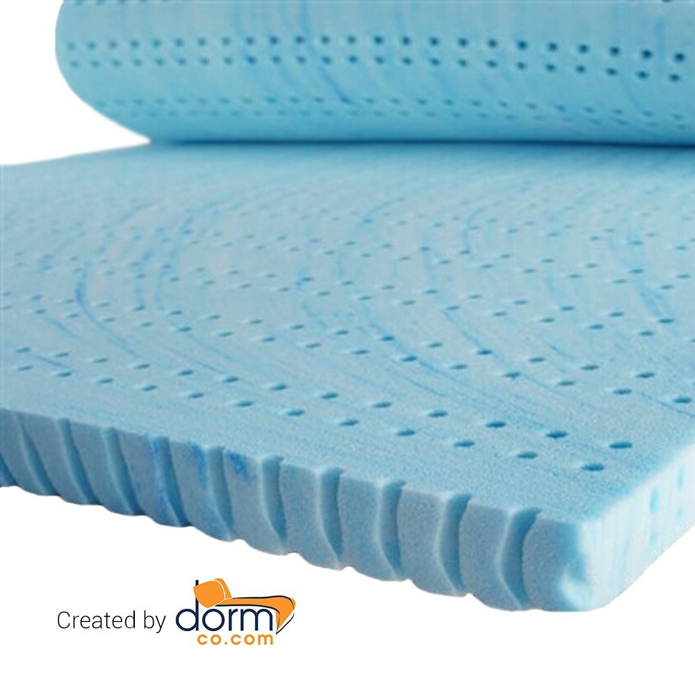 Drools a Lot - Coma Inducer - Memory Foam Topper - Extra Long Twin - 4 inch
