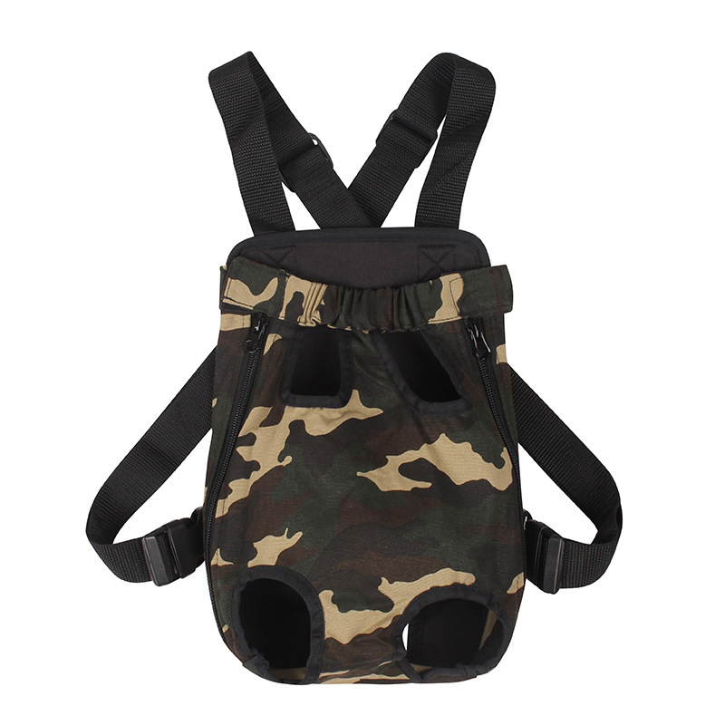 Free shipping New 2015 hot pet travel bags for dogs camouflage Canvas small dog carrying bag backpack for dogs S M L XL Retail