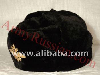 054ab0a4951 Russian Winter Soldier Uniform Soviet Military Surplus Bomber Aviator  Ushanka Faux Fur Hat Imperial Eagle Emblem
