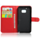 Wallet Card Holder Leather Flip Cover Phone For HTC One M10 Case