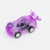 Hot selling plastic mini transparent pull back car toy