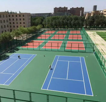 Synthetic Professional Outdoor Tennis Court Basketball Court
