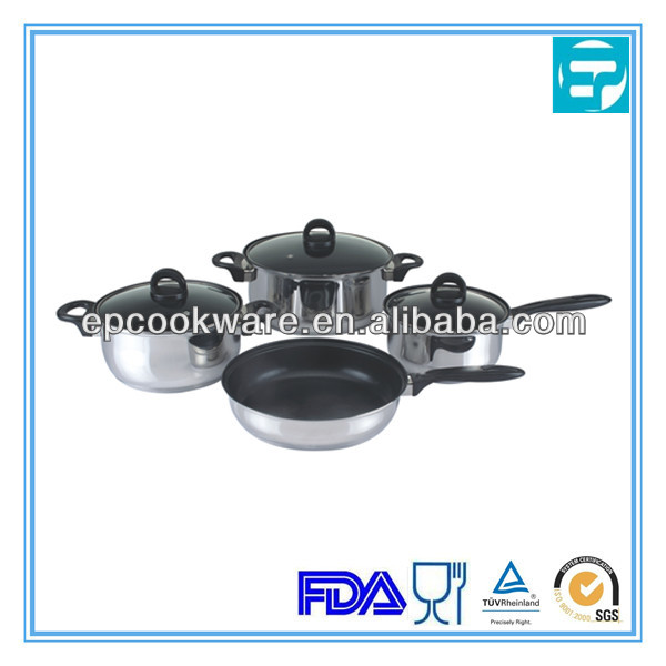 home enamel cookware stainless steel non stick cookware with bakelite handle
