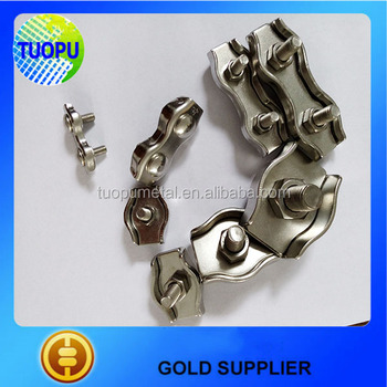 Stainless Steel Wire Rope Cross Clamp,Small Simplex Wire Rope Clamps ...
