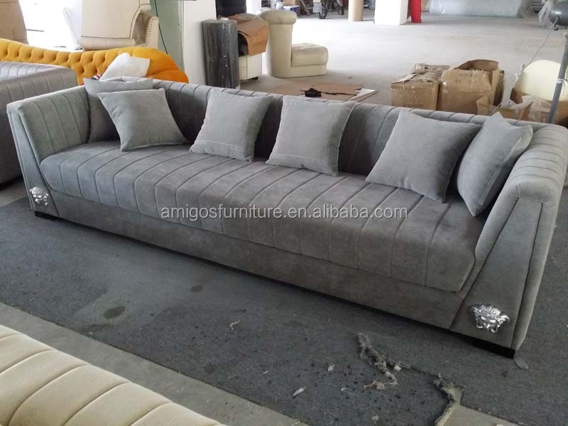 Divany Meubles de salon de style américain moderne tissu canapé ...