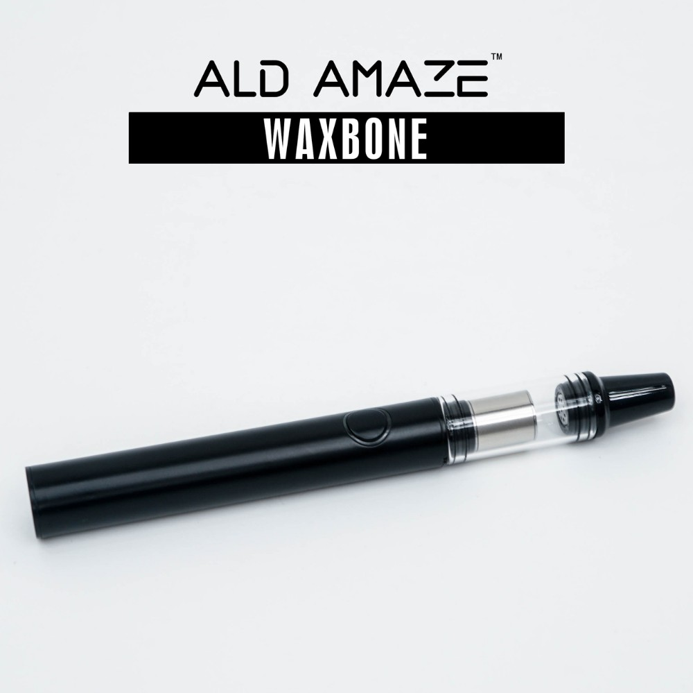 Original Ald Amaze wax vaporizer WAXBONE V2 with glass tube waxy vaporizer ceramic vaporizer wax