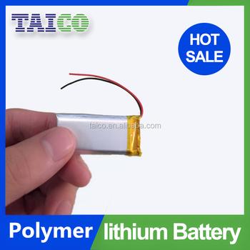 3.7v 180mah Ultra Thin Film Lithium Polymer Battery 3.7v 180mah ...