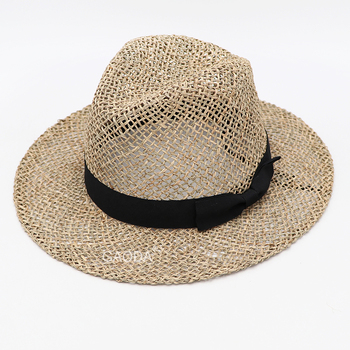 Wholesale Straw Hats Seagrass China Export Adult Panama Hat