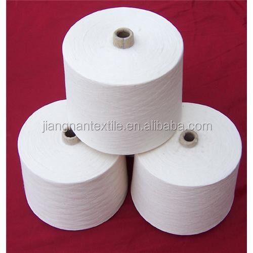 Alibaba China wholesale supplier polyester spun yarn with free samples/high tenacity polyester yarn for socks dresses