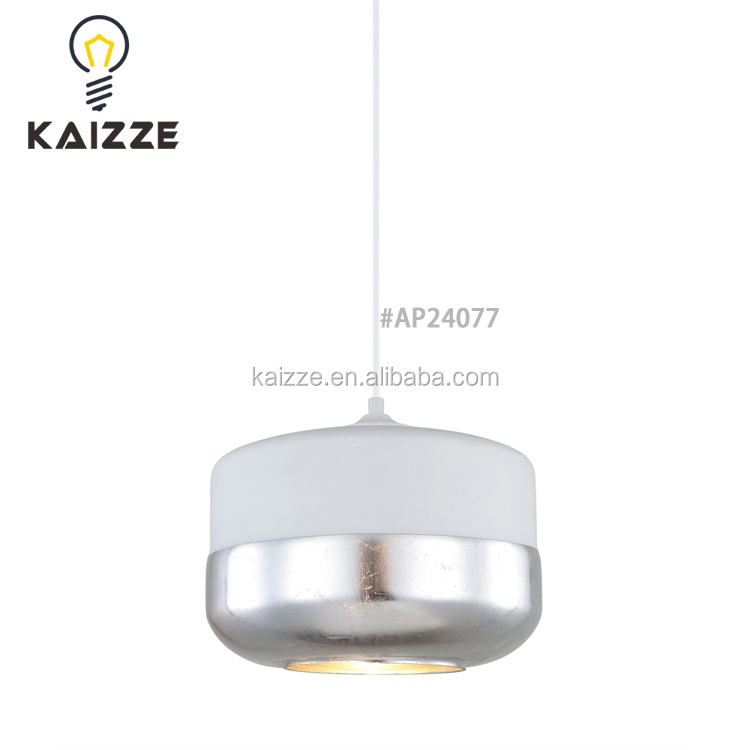 Zhongshan New Arrival Glass Shades LED Chandeliers Ceiling Lamp