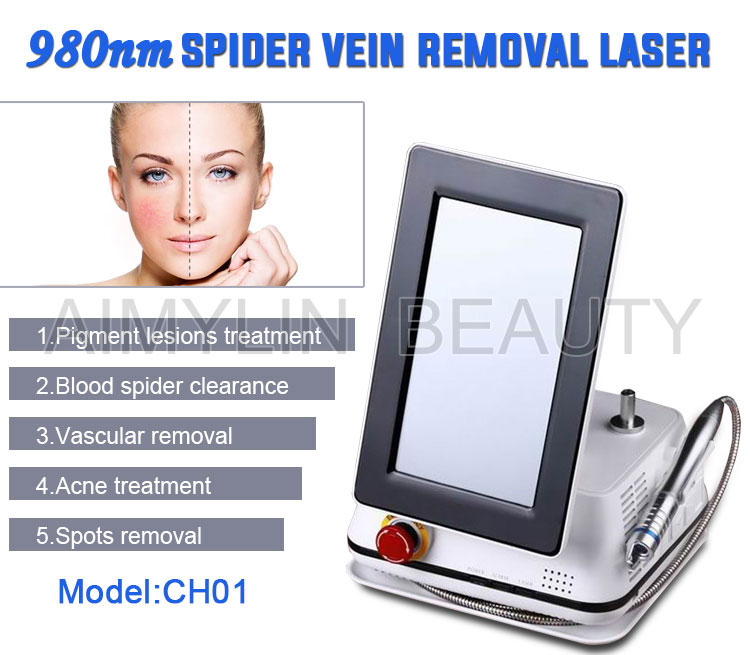 Factory price 980 nm diode laser for spider vein removal