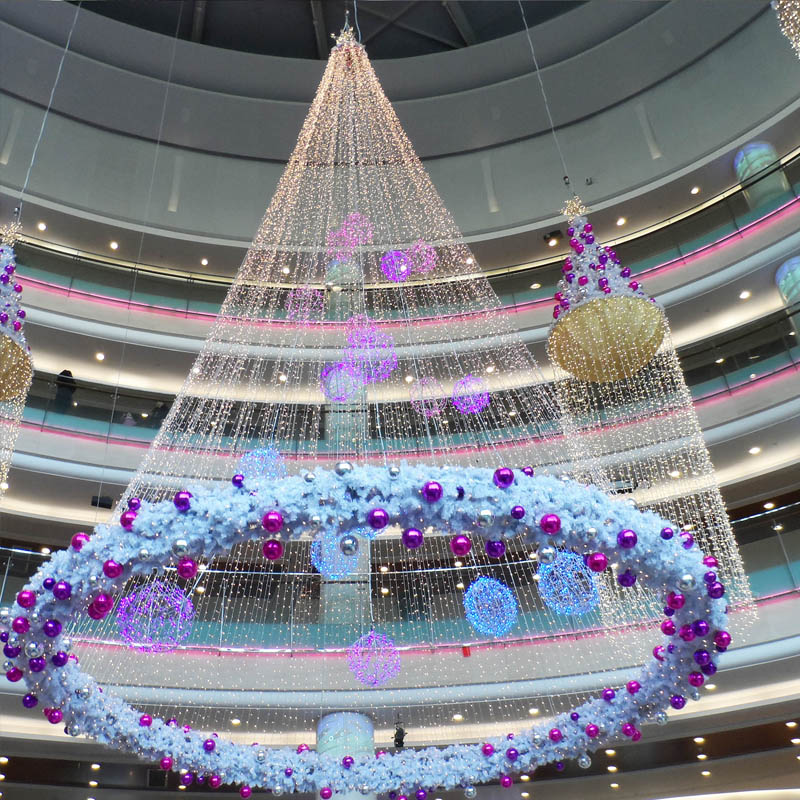 Christmas Commercial Decorations.Shopping Center Mall Atrium Hanging Commercial Christmas Decoration Buy Chinese Christmas Decorations Retail Christmas Decorations Indian Christmas
