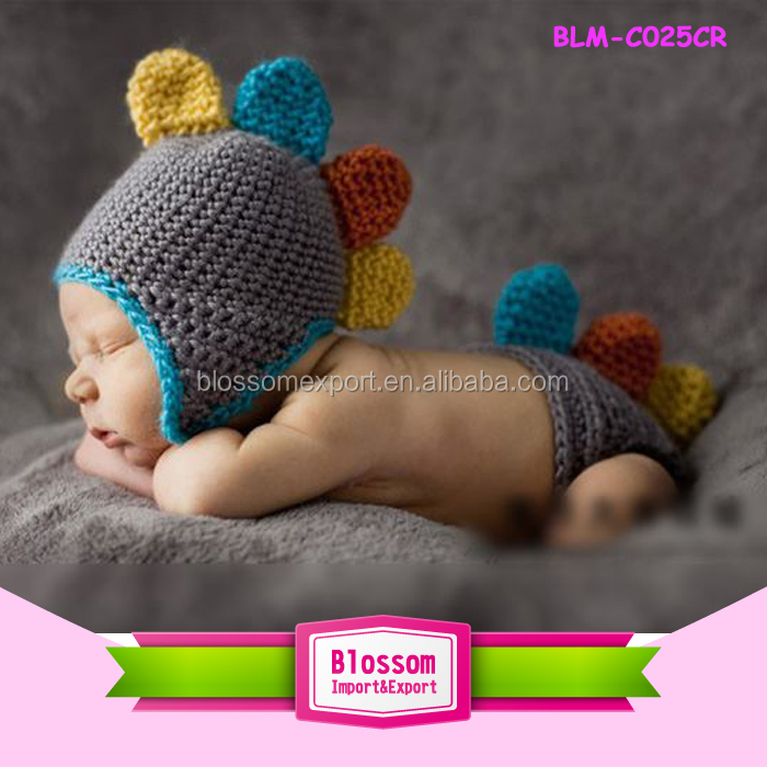 2015 NEW ARRIVAL hand crochet knit cute Panda newborn baby photography hats