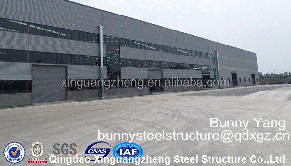 Low cost prefabricated corrugated steel buildings construction steel structure warehouse design