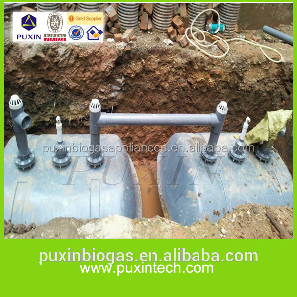 Puxin Low Cost Reinforced Fibre Glass Material Small Septic Tank ...