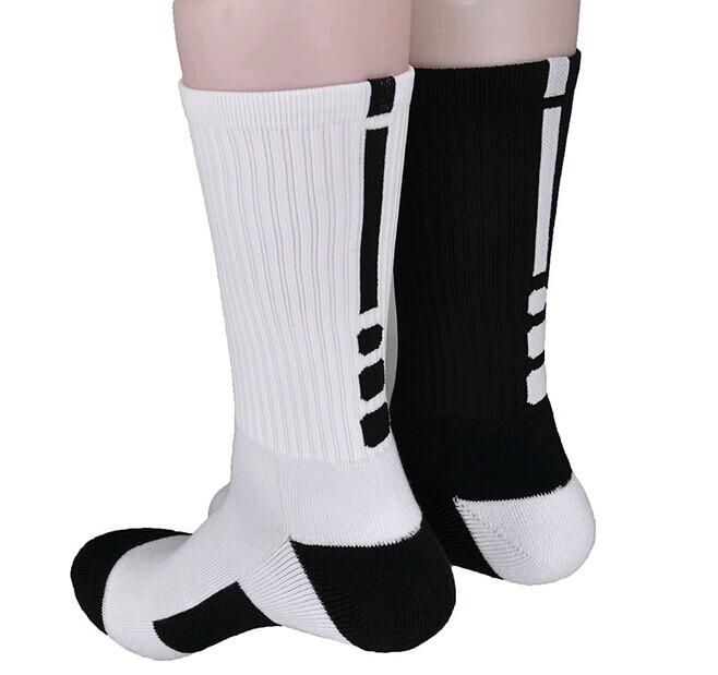 26e71a6f555 Good quality Professional tennis Badminton socks breathable sport elite  socks long Thickened cotton