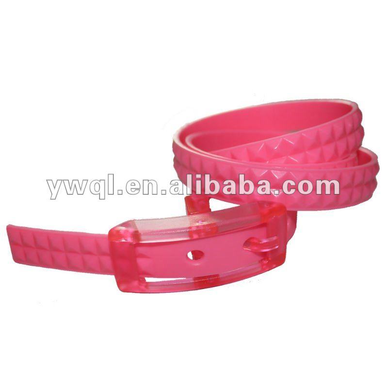 Girls' Silicone Flavour Belt