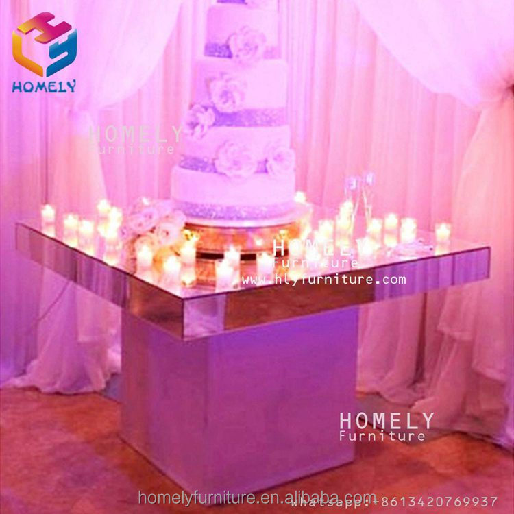 modern hotel banquet party event retangular gold glass crystal wedding marble top stainless steel frame dining table