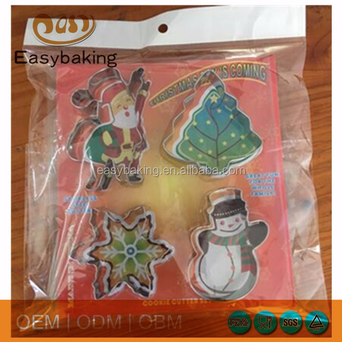 Christmas cookie cutter package